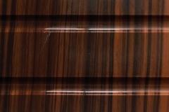 Зебрано темный глянец