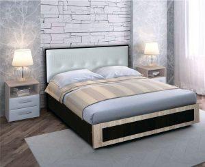 Кровать с мягким изголовьем 1