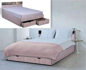 Кровать с ящиками №2
