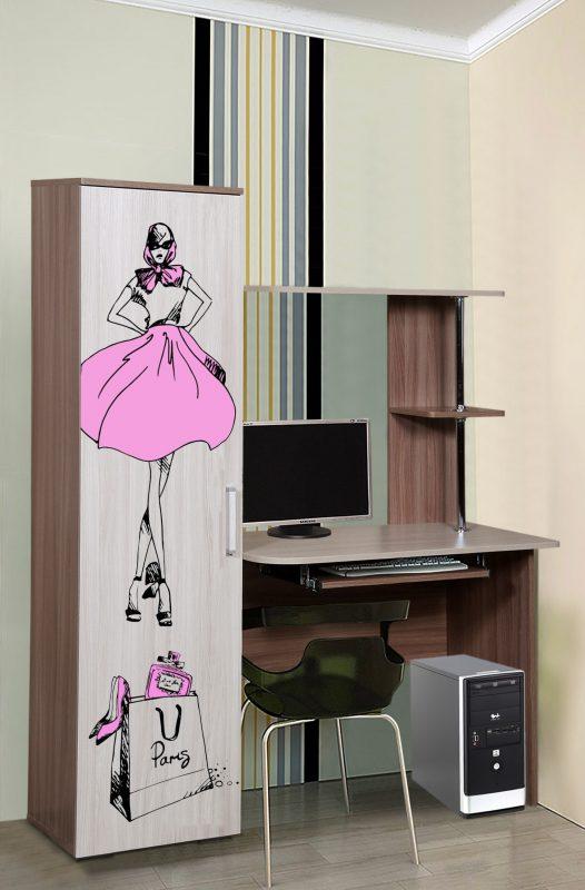 Стол компьютерный 44Д